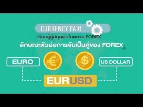 CURRENCY PAIR ในตลาด FOREX คือ : Motion Graphic MasterTP