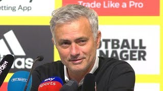 Watford 1-2 Manchester United - Jose Mourinho Full Post Match Press Conference - Premier League