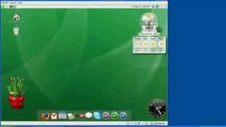 gOS Gadgets running in VirtualBox