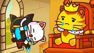 Ударная сила Котят Спасает Принцессу от Злых Лисят в новой   игре на   канале #ФГТВ