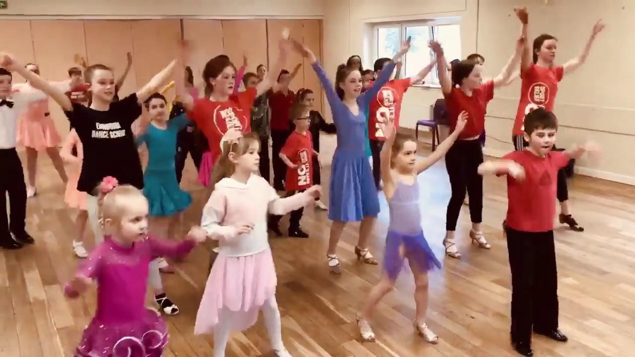 BallroomJuniors Club at Edinburgh Dance School do BBC Dance For Sport Relief