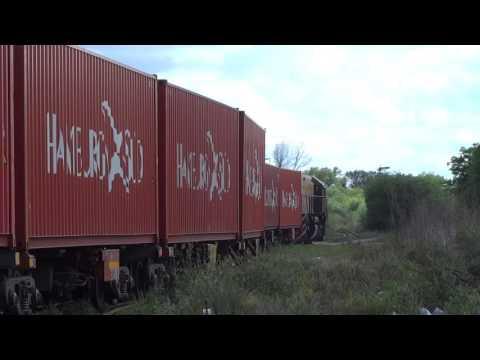 7768 saliendo de General Pinedo (05-10-2016)