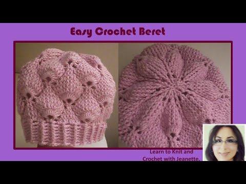 Easy Crochet Beret