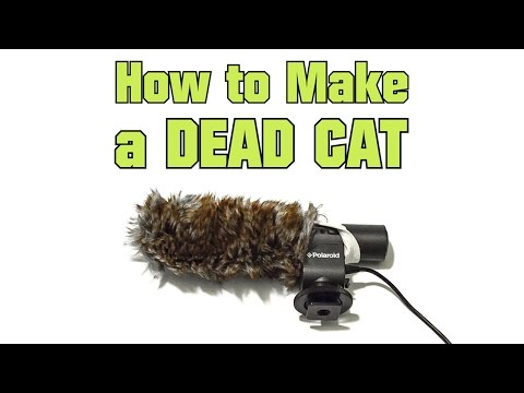 How to Make a Dead Cat ( Microphone Wind Screen Muff DIY )
