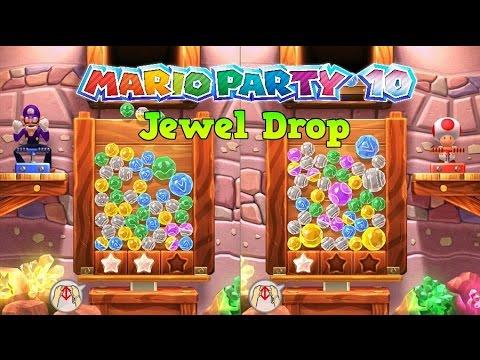 Mario Party 10 - Jewel Drop: Battle (1 vs 1)
