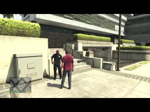 GTA V: How To Get Arrested