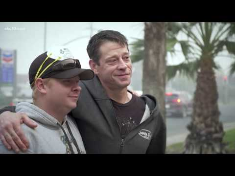 Paradise father, sons stay behind to help save neighbors from Camp Fire