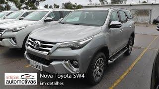 Nova Toyota SW4 - Detalhes - NoticiasAutomotivas.com.br