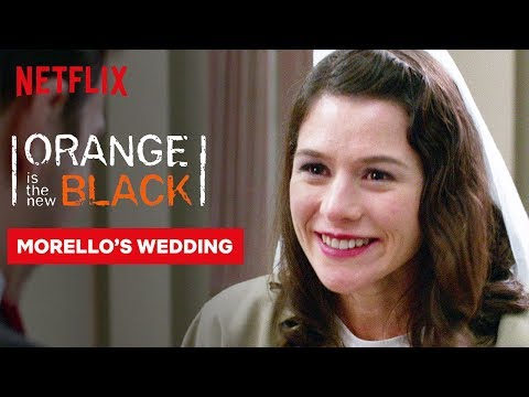 Morello Wedding Scene | Orange Is the New Black | Netflix