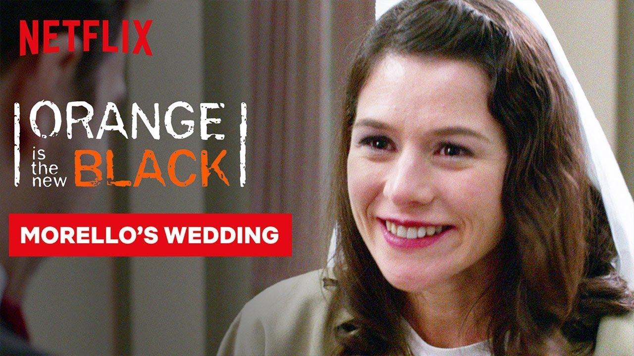Orange Is The New Black Wedding.Morello Wedding Scene Orange Is The New Black Netflix