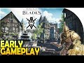THE ELDER SCROLLS BLADES EARLY GAMEPLAY -*FREE* Looting Adventure + BASE / CITY BUILDING MOBILE GAME