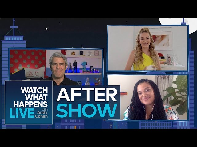 After Show\: Did Leah McSweeney Stop Drinking Because of RHONY? | WWHL