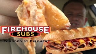 FIREHOUSE SUBS® ☆SMOKEHOUSE BEEF & CHEDDAR BRISKET☆!!!