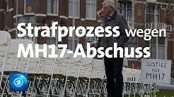 Abschuss des Flugs MH17: Beginn von Strafprozess in den Niederlanden