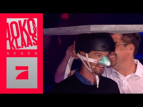 Aushalten - Lachgas für Joko! | Spiel 1 | Joko & Klaas gegen ProSieben