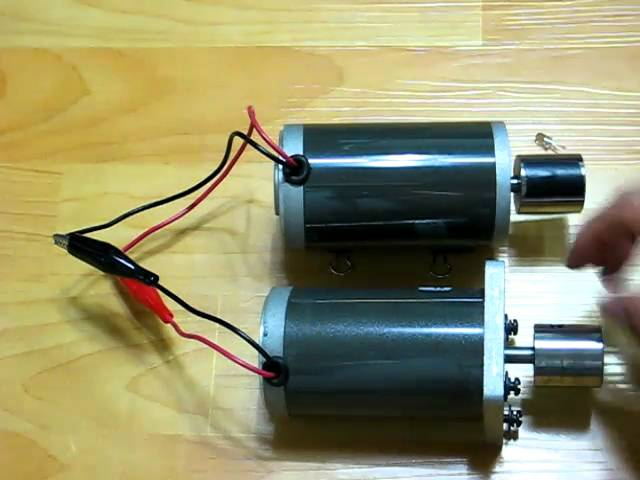 Dc motor dc generator 123vid for Dc generators and motors