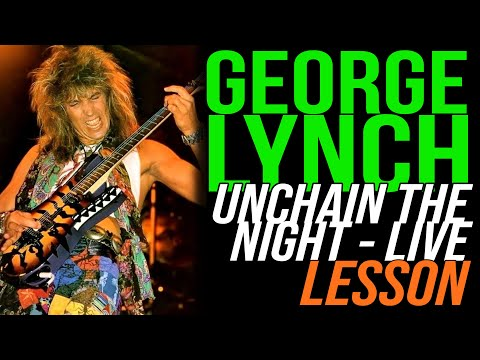 How to play Dokken Unchain The Night Beast From The East, George Lynch, Lynch Lycks S3 Lyck 27