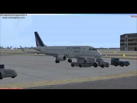 Wilco Embraer E170: Paris-Basel Moulhouse