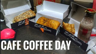 CAFE COFFEE DAY NEW MENU (DELIVERY REVIEW)