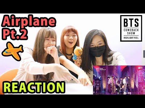 BTS (방탄소년단) - Airplane Part.2 @ BTS COMEBACK SHOW | HIGHLIGHT REEL [Reaction]| Army有嘢港