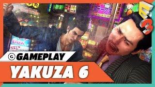 Beating Up Thugs and Making Gains in Yakuza 6 - E3 2017