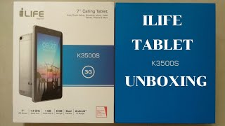 iLife Tablet K3500S Unboxing