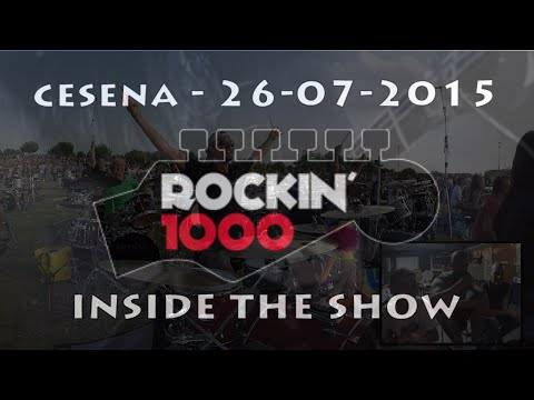 Rockin'1000 - Inside The Show by Fede Trebbi & Friends