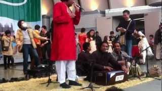 Badar Ali Khan Qawwal - Aaj Rang Hay / Ali Da Malang