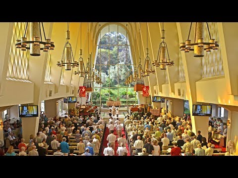 Sunday Worship Services 5-20-18 at First Church San Diego