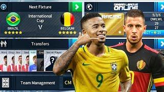 Brazil 🇧🇷 Vs 🇧🇪 Belgium International Cup Final 🏆 Dream League Soccer 2018