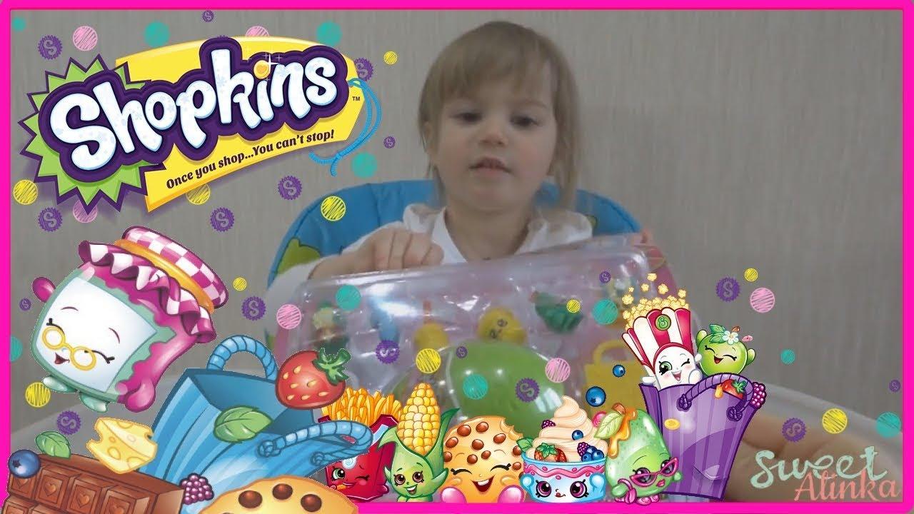 Shopkins Season 2 Review 2 Packs and Surprise egg Шопкинс ...