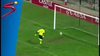 Petrus Shitembi bizarre goal vs Black Leopards - PSL Promotion Play-offs
