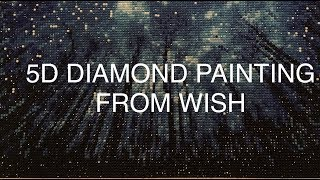 5D Diamond Painting from WISH