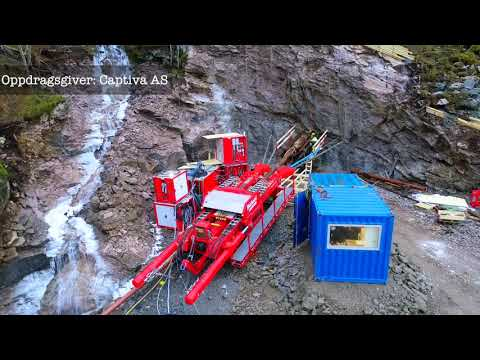 Watch the movie: Rigging up and drilling the Kjerringnes power plant tunnel