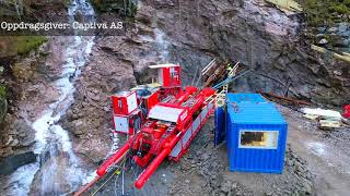 Norhard microtunneling in Western Norway! Drilling for Kjerringnes Hydropower plant.
