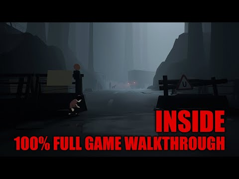 INSIDE - 100% Full Game Walkthrough - All SECRETS
