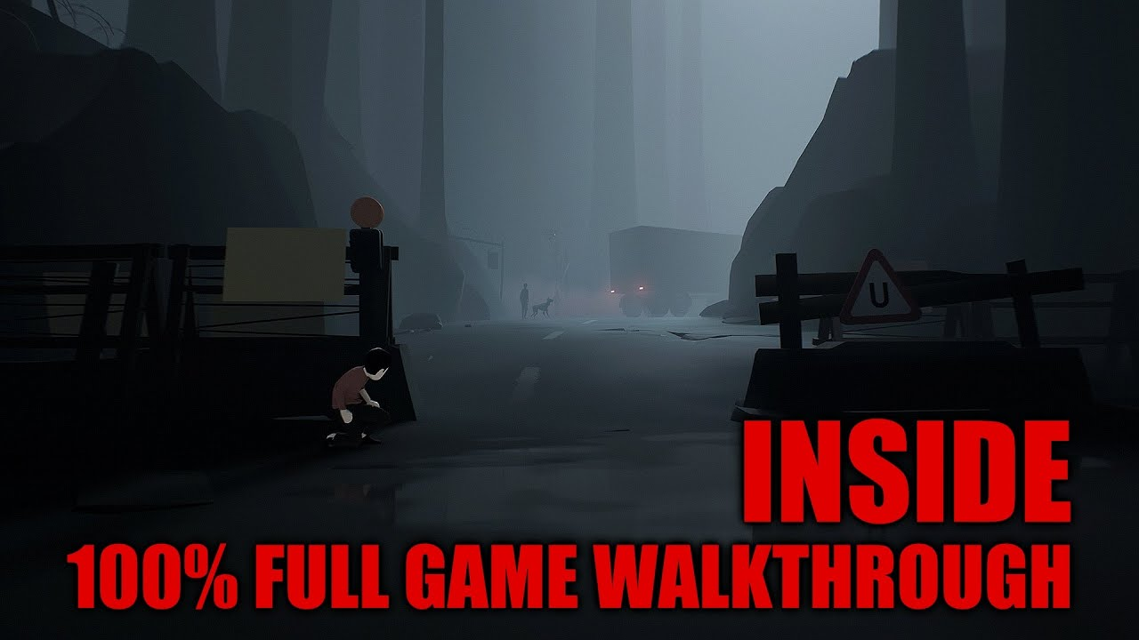 INSIDE – 100% Full Game Walkthrough – All SECRETS (Collectibles) & Achievements/Trophies