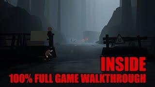 INSIDE - 100% Full Game Walkthrough - All SECRETS (Collectibles) & Achievements/Trophies