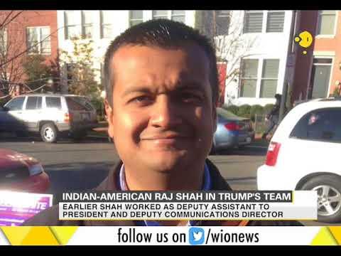 Indian-American Raj Shah in Trump
