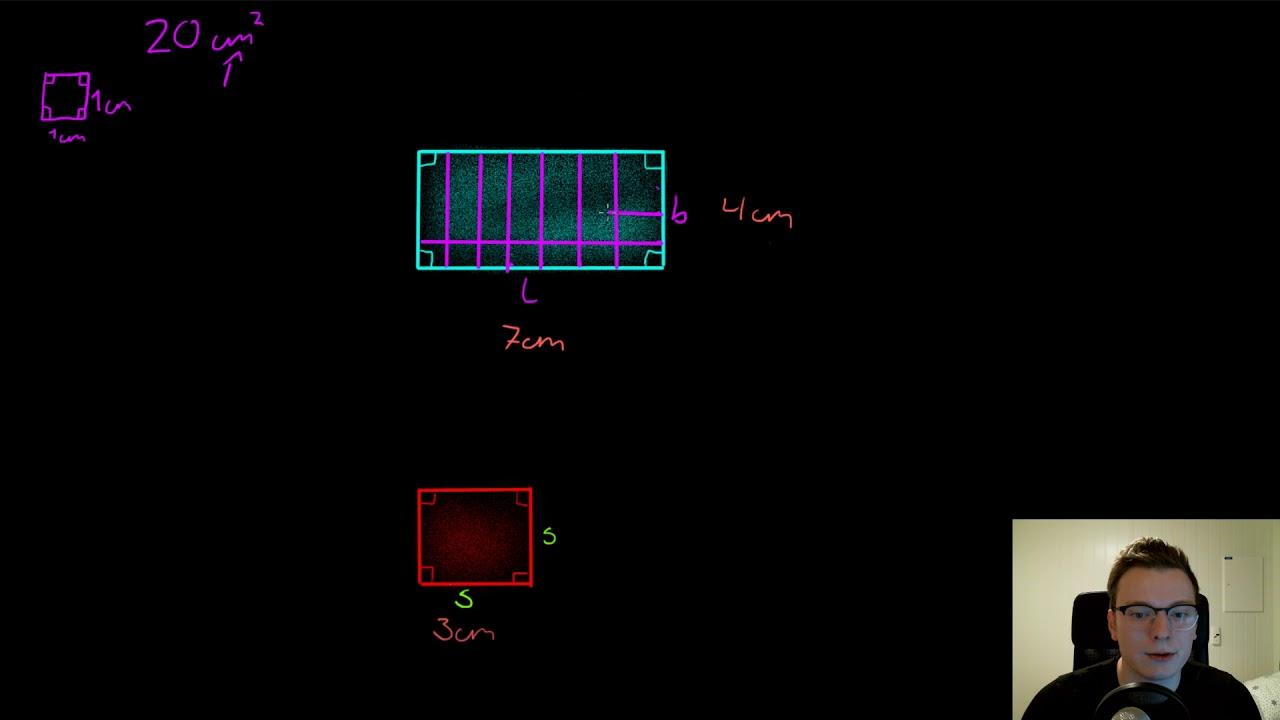 3.5 Areal av rektangel og kvadrat
