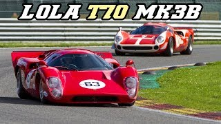1969 Lola T70 mk3 & mk3b compilation - Monster V8 sounds