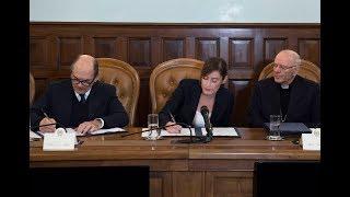 Firma di un protocollo d'intesa per la tutela dei minori nel territorio calabrese