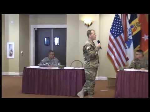 Garrison Commander Talks Water Utilities