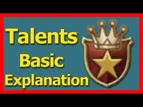 Setting Up Talents - Basic Tips - Lords Mobile