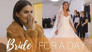 BRIDE FOR A DAY AT PFW! (Part 1)