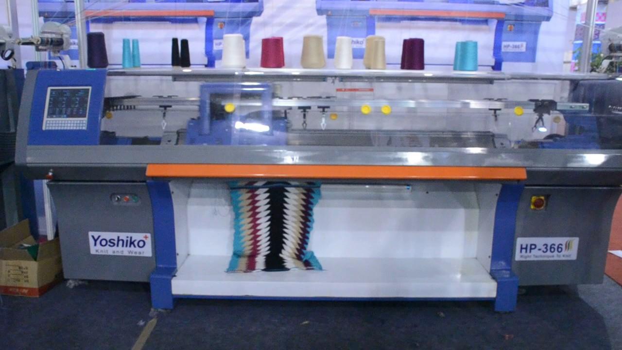 Flat Knitting Machines Fully Automatic Computerized Flat Knitting