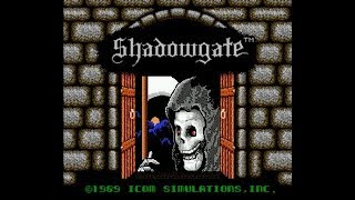 Retro NES game Shadowgate Complete walk-through!