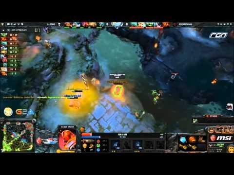 ▶ Dota 2  MSI Beat It RGN League Wildcard  Aliens vs Guardians