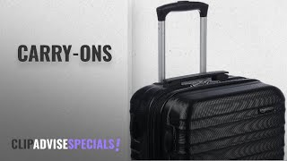 10 Best Carry-Ons [2018 Best Sellers]: AmazonBasics Hardside Spinner Luggage - 20-inch