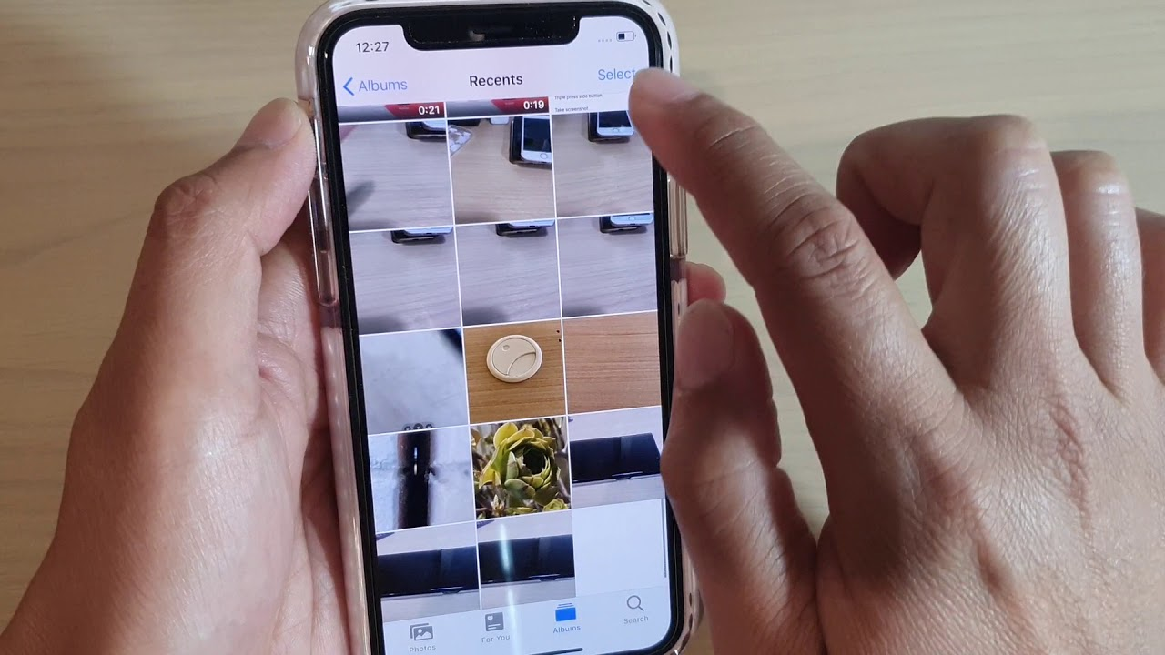 How To Save Multiple Live Photos Into A Single Video Clip On Iphone 11 Pro Ios 13 Youtube
